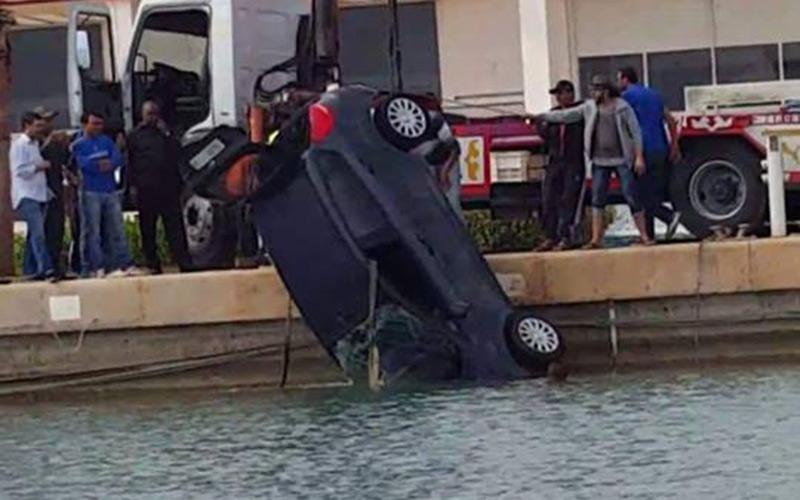 مصرع مغربي سقط بسيارته من الباخرة في ميناء سبتة المحتلة