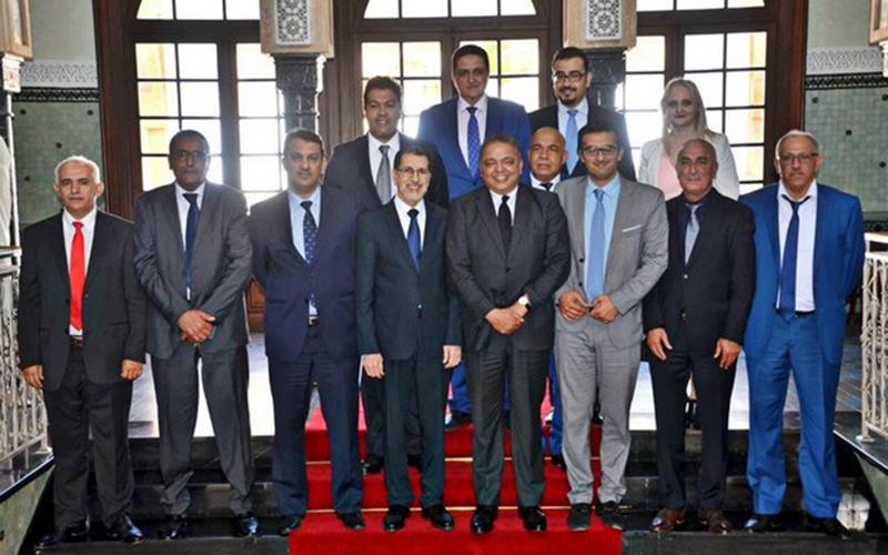 العثماني يستقبل رؤساء الغرف الجهوية للتجارة والصناعة والخدمات