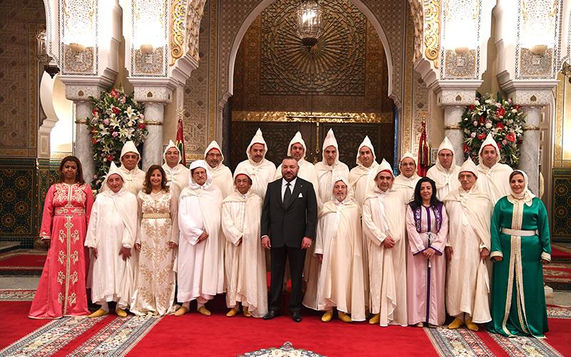 الملك يعين أعضاء المجلس الأعلى للسلطة القضائية