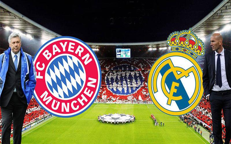 بث مباشر دوري أبطال أوروبا : ريال مدريد وبايرن ميونخ