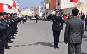 سيدي إفني : عامل الإقليم يترأس الاحتفال بالذكرى الواحدة والستين لتأسيس الأمن الوطني