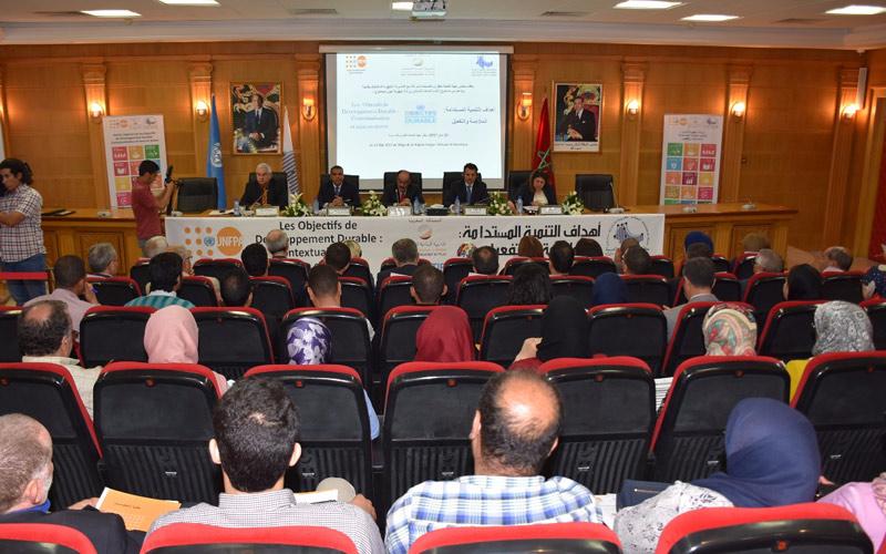 العماري: عملنا على تحقيق أهداف التنمية المستدامة خدمة للإنسانية جمعاء