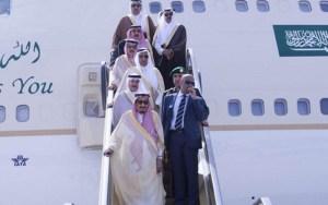 الملك سلمان يزور طنجة والعثماني في استقباله