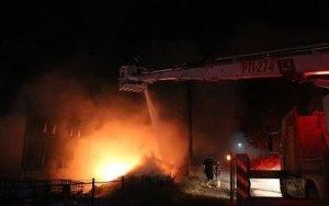 بعد حادثتي دهس.. برشلونة تشهد إندلاع حريق ضخم بأحد مطاراتها