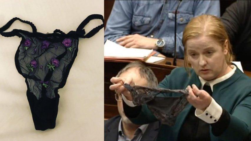 نائبة تعرض ملابس داخلية مثيرة داخل قبة البرلمان.. القصة الكاملة (صور وفيديو)