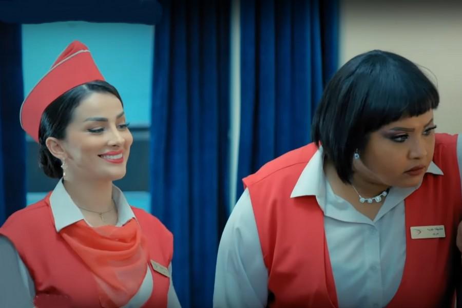 دور مضيفة طيران لممثلة مغربية في سلسلة سعودية يثير الانتقاد