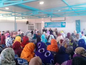 منظمة المرأة التجمعية تواصل انفتاحها على 7 جماعات بسوس ماسة
