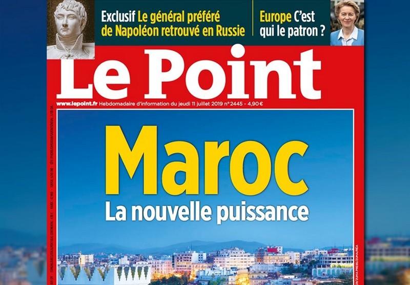 'المغرب.. القوة الجديدة'.. LePoint الفرنسية تنقل صورة المملكة بسياستها الجديدة