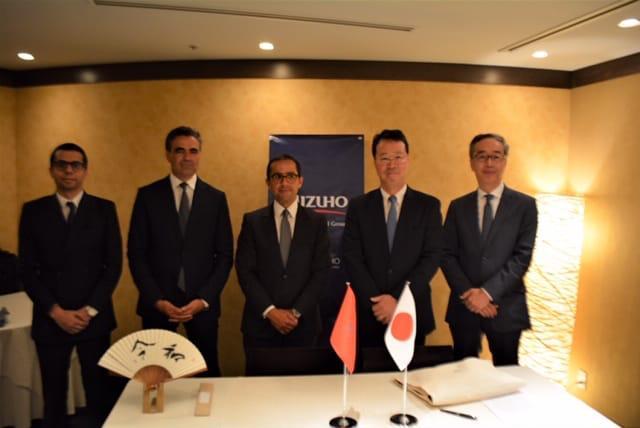 التجاري وفا بنك يوقع مذكرة تفاهم مع 'ميزوهو بنك' الياباني