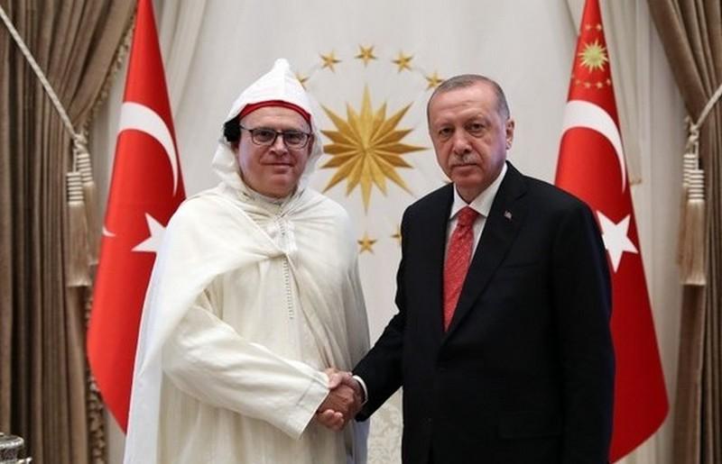 أردوغان يستقبل الأرزق سفير المغرب.. والأخير: الملك يدعم علاقته بتركيا