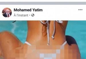 يتيم يغطي على فضيحته البورنوغرافية بفضيحة بإسم وزارته: صفحتي اختُرقت!