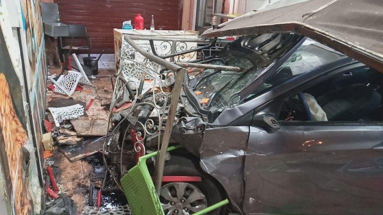 بالفيديو. تفاصيل جديدة عن حادث اقتحام سيارة لمطاعم بمراكش