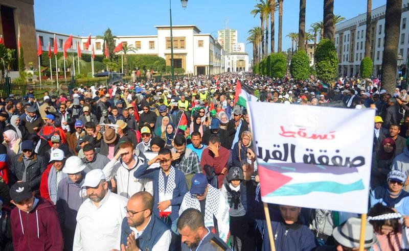 الداخلية تمنع وقفة لدعم فلسطين والقدس أمام البرلمان بمبرر الطوارئ الصحية