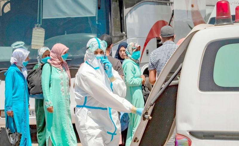 توزيع حصيلة كورونا   كازا تواصل النزيف بـ391 إصابة و10 وفيات في يوم واحد