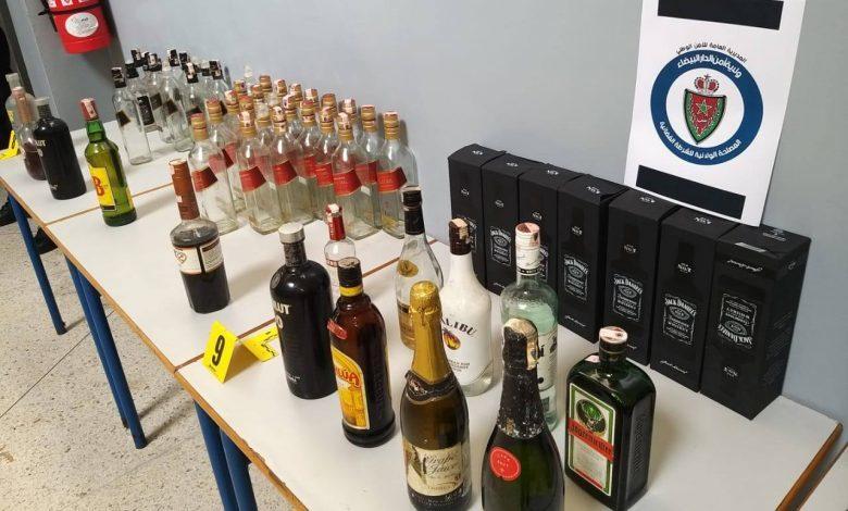 الحرب على 'الشراب المغشوش' تصل فاس.. حجز 5 آلاف قنينة خمر في مستودعين سريين