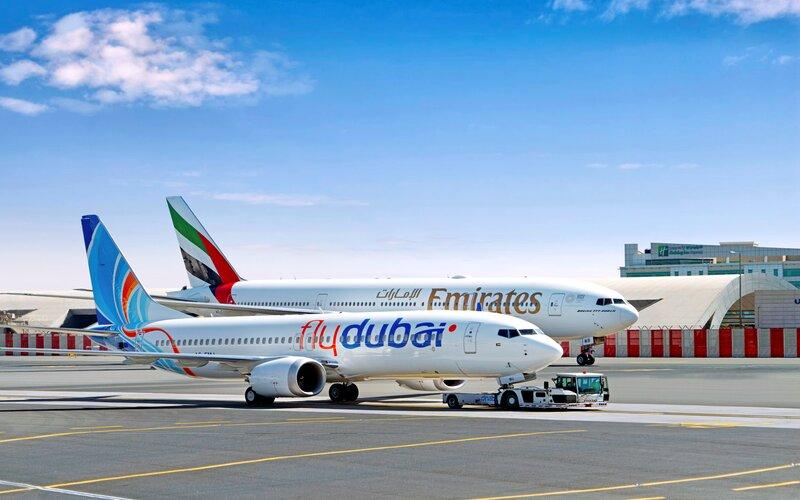 """""""طيران الإمارات"""" و """"فلاي دبي"""" تعيدان تفعيل شراكتهما"""