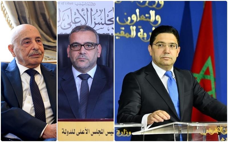 بعد تأجيل جولة بوزنيقة.. مساعٍٍ مغربية لجمع المشري وعقيلة لإنقاذ الحوار الليبي
