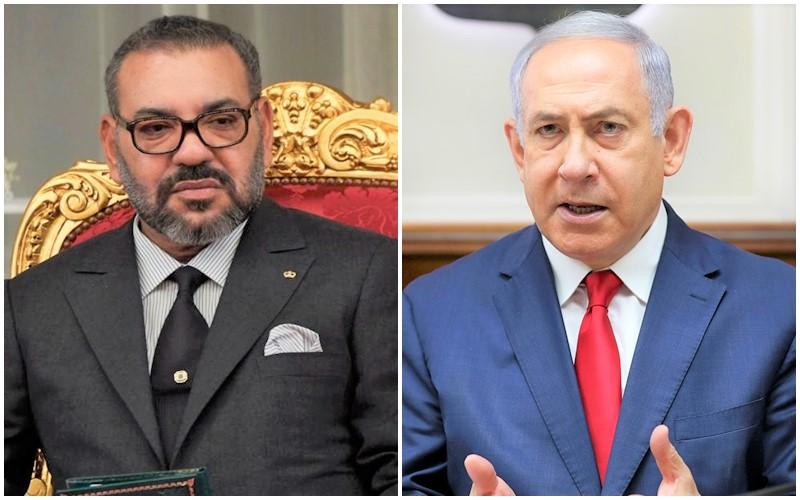 الملك محمد السادس يجري مباحثات هاتفية مع رئيس الوزراء الإسرائيلي نتنياهو