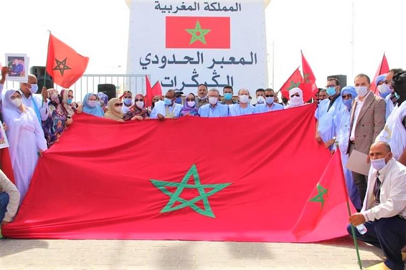 """من الكركرات. أوجار: """"الأحرار"""" يعطي أولوية استراتيجية في عمله لقضية الصحراء المغربية"""