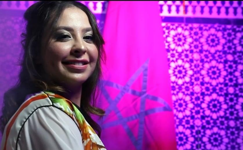 إيمان قرقيبو تغني 'Love Morocco' عن انتصار المغرب في ملف الصحراء