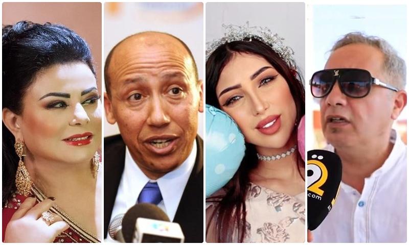 2020.. سنة اللعنات والفضائح تطارد مشاهير مغاربة