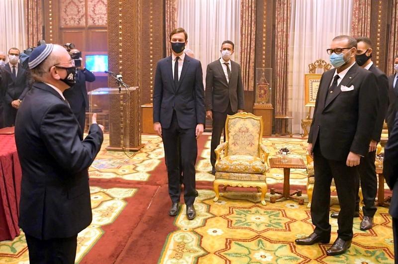 الملك لكوشنر: أهنئك على عملك الكبير لصالح وحدتنا الترابية وتحقيق السلام في الشرق الأوسط