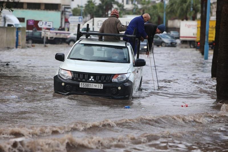 """فيضانات """"كازا"""".. التجمع الدستوري يجر وزير الداخلية للمساءلة البرلمانية"""