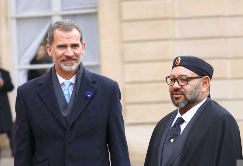 الملك فليبي السادس: نتقاسم مع المغرب الصديق مصالح وتحديات مشتركة