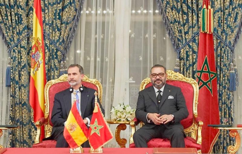 الملك لـ'فيليبي السادس': صداقتنا الشخصية متينة.. وعلاقات المغرب وإسبانيا متميزة