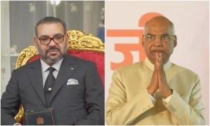 الملك لرئيس الهند: المغرب سيطور العلاقات مع نيودلهي في عدة مجالات