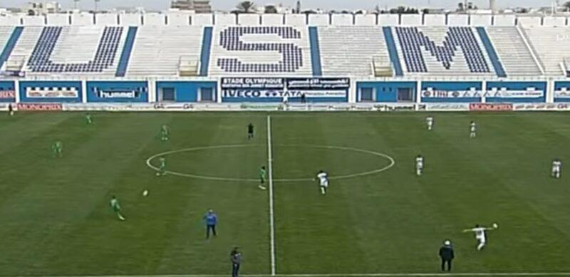 توقف مباراة الرجاء والمنستيري التونسي بسبب الجماهير