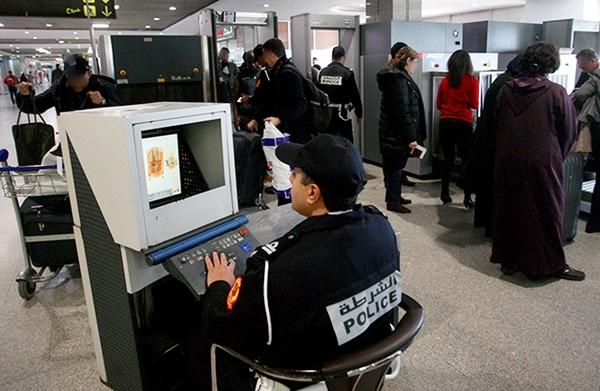 شرطة مطار محمد الخامس تحبط عملية تهريب الكوكايين في إتجاه المغرب