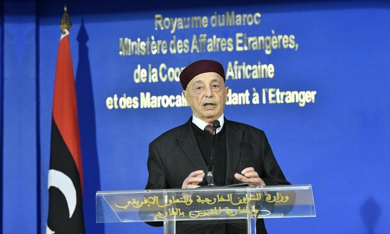 عقيلة صالح يشكر المغرب، ويختار الرباط للتأكيد على حكومة مؤقتة بكفاءات من كل ليبيا