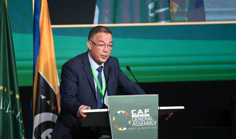 لقجع يعرض برنامج تطوير البنى التحتية لكرة القدم في إفريقيا بكلفة مليار دولار