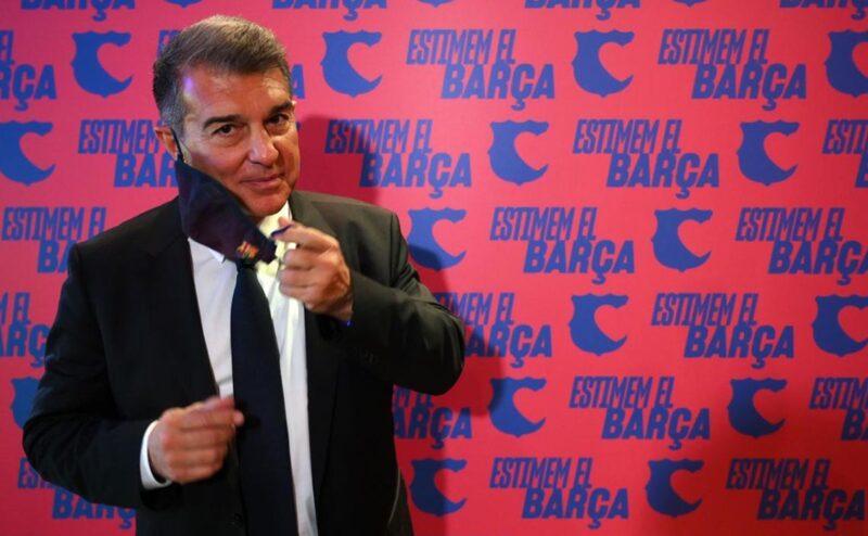 قناة كتالونية تعلن لابورتا رئيسًا جديدا لنادي برشلونة