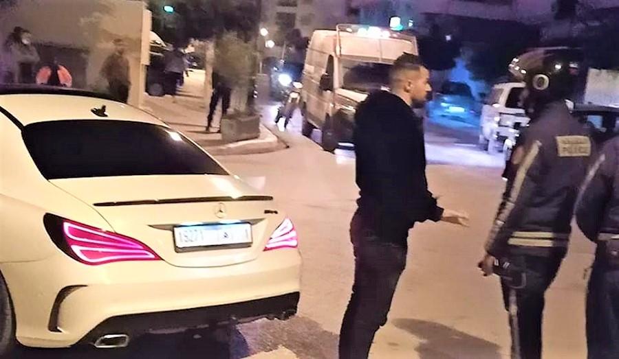 """بعد خرقه """"الطوارئ الصحية"""".. شرطة طنجة توقف الشرطي السابق هشام الملولي"""