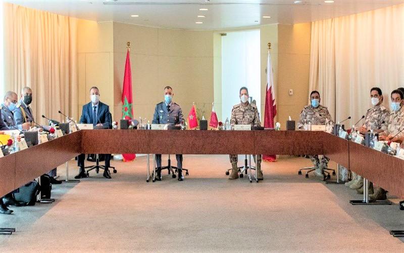 بيان ختامي. القوات العسكرية المغربية ـ القطرية تتفقان على تطوير التعاون الثنائي