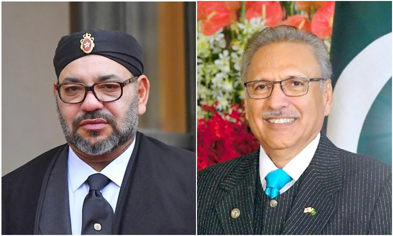 الملك ينوه بتعاون باكستان مع المغرب دولياً، ويؤكد: نسعى لتعميق العلاقات