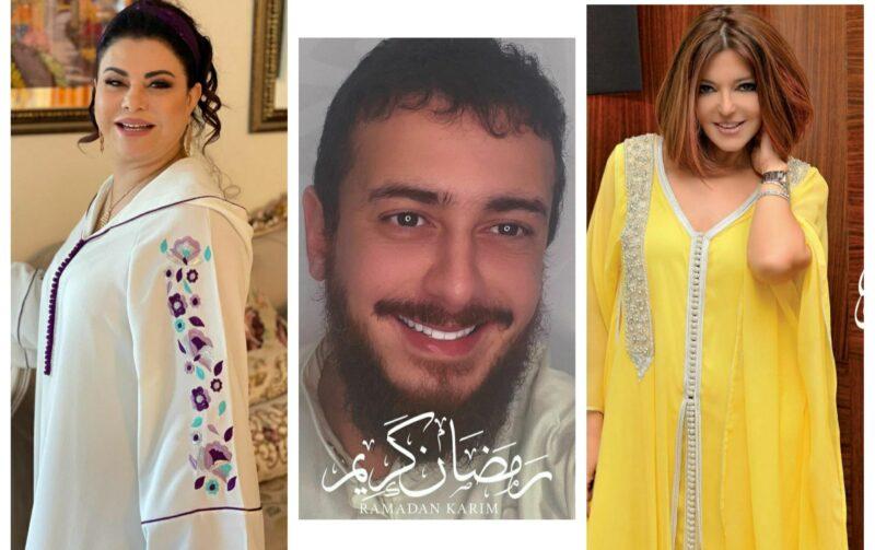 حفلات وجلسات تصوير وحماس.. هكذا استقبل فنانون مغاربة رمضان الكريم
