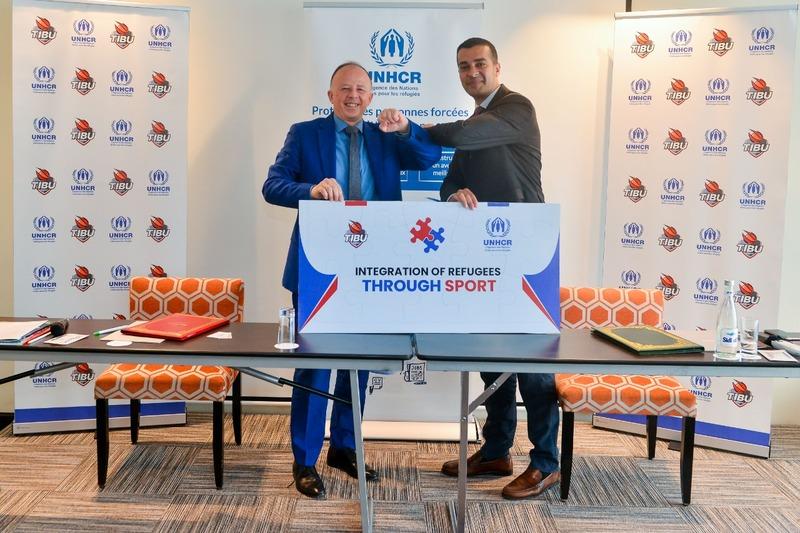 تيبو المغرب والمفوضية السامية يدمجان اللاجئين من خلال الرياضة