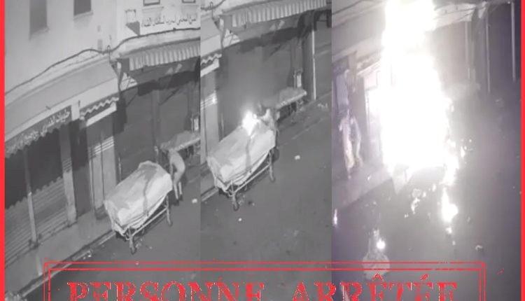 بعد انتشار الفيديو.. اعتقال مضرم النار في عربة بضائع بالدار البيضاء