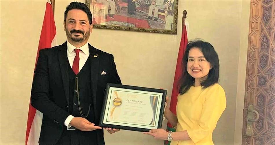 المؤتمر العالمي للعبقرية باليابان يتوج المخترع المغربي البوعزاوي بـ'جائزة المستقبل'