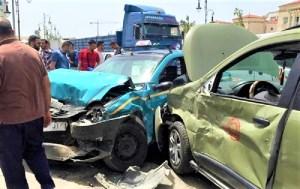 حرب الطرق تقتل 14 مغربياً وترسل المئات إلى المستشفى في أسبوع واحد