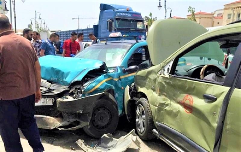 حوادث السير تقتل 20 مغربياً وترسل المئات إلى المستعجلات في أسبوع