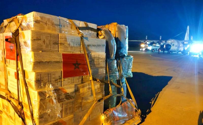 المغرب يواصل دعم الفلسطينيين.. طائرة عسكرية أخرى تتوجه لقطاع غزة عبر القاهرة