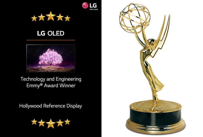 تلفزيون LG OLED يُكرّم في حفل توزيع جوائز Emmy