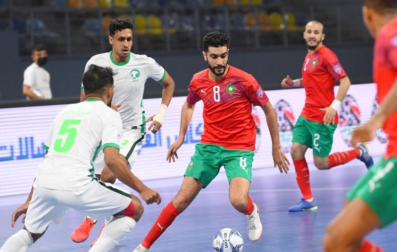مونديال العرب للفوتسال | المغرب يسحق البحرين بسداسية ويتأهل للنهائي