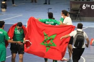 مبروك. المنتخب المغربي يتوج بطلا لكأس العرب لكرة القدم للصالات