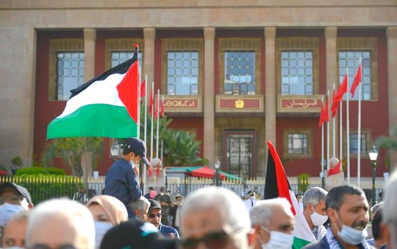 بينها المغرب. آلاف المتظاهرين في مدن أوروبية وعربية يحتجون دعمًا للفلسطينيين
