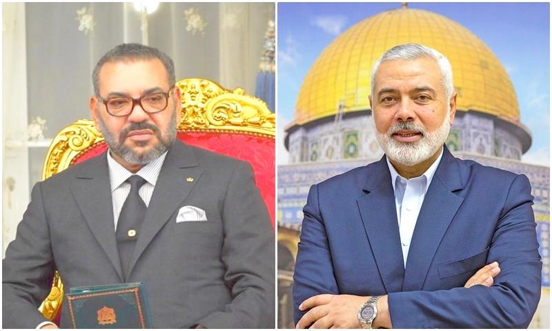 المغرب يخاطب اسماعيل هنية: نرفض انتهاكات إسرائيل، والقضية الفلسطينية في مرتبة القضية الوطنية